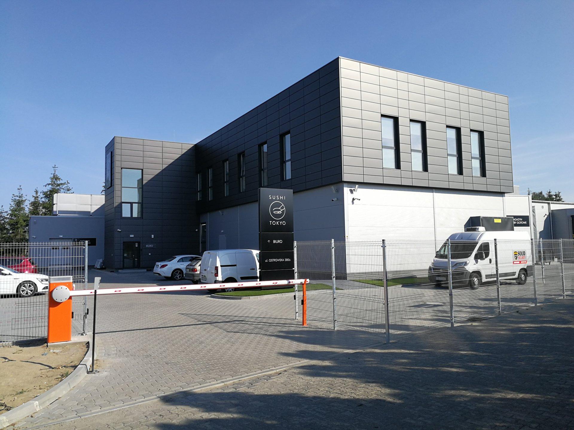 Budynek produkcyjno-magazynowy przemysłu spożywczego